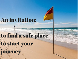 an invitation to find a safe place to start your management journey